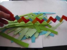 How to make a (paper) gum wrapper chain