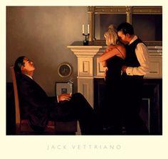 Jack Vettriano. Beautiful Losers II.
