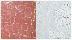 Some samples of Porter's Crackle Medium done in our showroom creating two beautiful antique finishes