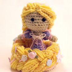 Designer Crochet Amigurumi Patterns Merida Warrior Princess : PATTERN Instant Download Merida Warrior Princess Brave ...