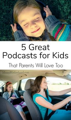 Podcasts for kids don't have to be boring. Man, I love this list. #podcast #motherhood #kids