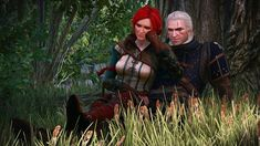 I'm a big fan of Witcher games and books. My favorite character is Triss Merigold, but I'm a sucker for sorceresses. The Witcher Geralt, Geralt Of Rivia, Triss Merigold, Hail Storm, Wild Hunt, Fantasy Series, Assassins Creed, Game Art, Novels