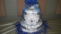 dallas cowboys themed wedding ideas | Har2Heart Planning - Wedding and Event Coordination: Diaper Cakes, A ...