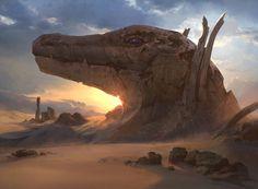 ArtStation - Desert of the Glorified, Jonas De Ro