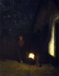 """Night"" by Henry Ossawa Tanner, c.1905"