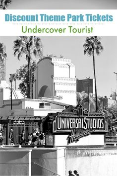 Undercover Tourist | Discount Theme Park Tickets to Universal Studios via @tonyastaab