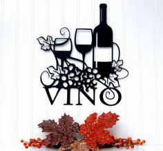 Metal Wine Signs | Vino Metal Sign - Wine Sign | Flickr - Photo Sharing!