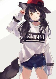 Vou Sair Com Meu Cruch Como Eu Estou Manga Anime Girl Art