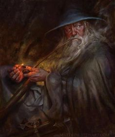 Tharkún, Gandalf by Matthew Stewart