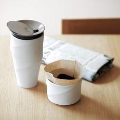 TOAST_Wave Coffee tumbler 咖啡杯
