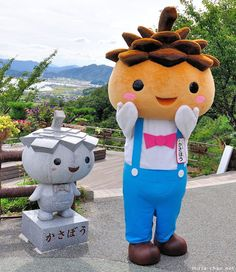 Kasab? - The mascot of Kasamatsu Park