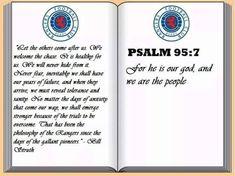 Rangers Football, Rangers Fc, Psalm 95, Dad Tattoos, Joker And Harley Quinn, Chelsea Fc, Glasgow, Board, Babys