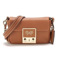 Tan Butter Leather Carker Mini Cross Body Day Bags Anya Hindmarch For Her