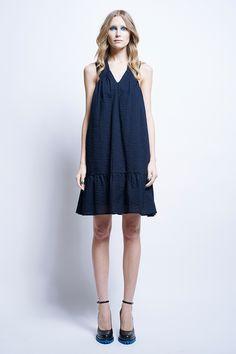 Scout Stitched Dress - Time Machine | Karen Walker