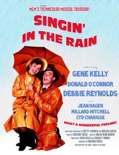 poster The Rain Movie, See Movie, Singing In The Rain, Peliculas Online Hd, Stanley Donen, Donald O'connor, Cyd Charisse, Debbie Reynolds, Free Tv Shows