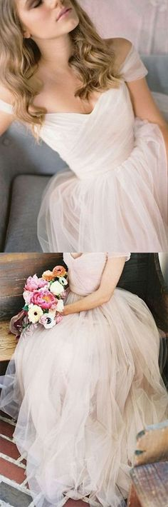 2017 long wedding dress with cap sleeves, Nearly my dream wedding gown! Pink Wedding Dresses, Bridal Dresses, Wedding Gowns, Bridesmaid Dresses, Modest Wedding, Wedding Venues, Tule Wedding Dress, Bridesmaid Ideas, Wedding Reception