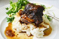 12 Days of Recipes: Braised Bison Short Ribs with Balsamic - dinner with Julie