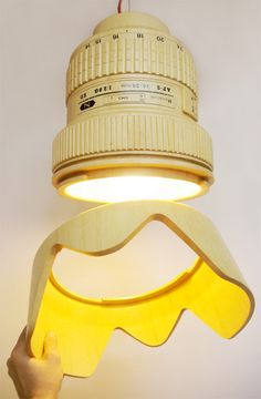 Camera Lamp by Monoculo