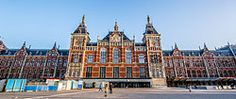 Amsterdam - Wikipedia, the free encyclopedia. picture: Amsterdam Central Station is the city's main train station