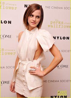 Emma Watson & Logan Lerman: Perks Screening in NYC!