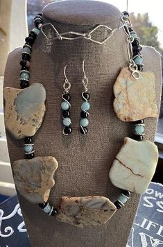 Bohemian In Me Wire Wrapped Jewelry, Wire Jewelry, Gemstone Jewelry, Beaded Jewelry, Beaded Necklace, Amethyst Necklace, Stone Necklace, Necklace Set, Old Jewelry