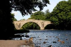 Old Packhorse Bridge - Ilkley (Start of the Dales Way) British Country, Victorian Architecture, West Yorkshire, Leeds, Country Life, Bridges, Cabins, Places Ive Been, Britain