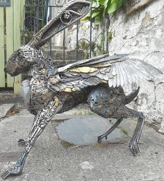 The Golden Flying Steampunk Hare. David Beattie