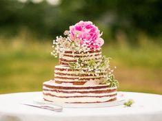 Výsledek obrázku pro nahy dort zdobeny kvetinami