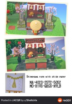 Animal Crossing Pocket Camp, Animal Crossing Game, Zen Furniture, Folk, New Leaf, Alien Logo, Qr Codes, Custom Design, Coding