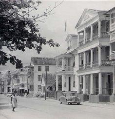 Paramaibo, Suriname, 1955.