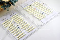 dedicated Distress Ink nib storage in a clear case holder - by Becca make cases like this for spectrum noir