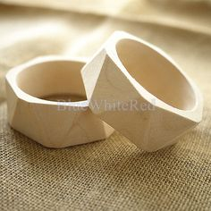 Supplies Wood Bangle / Bracelet Unfinished Wooden Jewelry Supply - Gift for Her  Eco-Friendly Jewelry - Organic Jewelry I