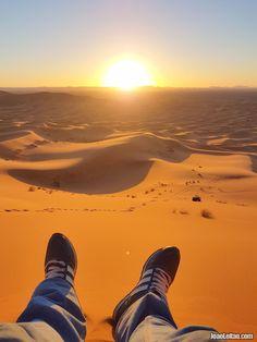 Deserto do Saara Marrocos / Sahara Desert Morocco.