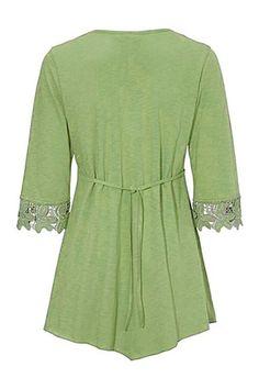 Lace-paneled irregular T-shirt #paneled, #sponsored, #Lace, #shirt, #irregular #Adver