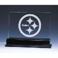 "BRAND NEW Pittsburgh Steelers NFL ""Edge Light"" Team Logo Display"