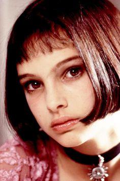 Beautiful bangs icon: Natalie Portman, 1994