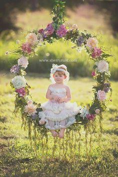 so cute decorating photoshoot 33 Magnificent Wedding Wreaths Photos Photography Backdrops, Girl Photography, Children Photography, Wedding Photography, Swing Photography, Wedding Wreaths, Wedding Decorations, Photo Rose, Baby Girl Photos