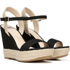 FERGALICIOUS Women's Vortex Espadrille Wedge Sandal at Famous Footwear