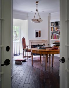 American Tudor - traditional - home office - dc metro - Donald Lococo Architects