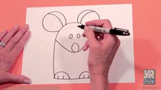 Kids Drawing Activity: How to Draw a Mouse