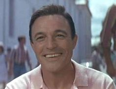 Gene Kelly's beautiful smile when he meets Françoise Dorléac's character in Les Demoiselles de Rochefort.