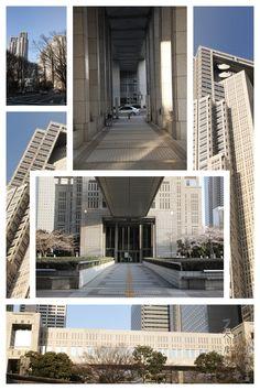 Tokyo Metropolitan Government Office Shinjuku, Tokyo  1991 Kenzo Tange JapArch, photo by Hubert Roguski