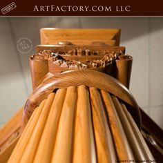 Custom Hand Carved Canopy Bed: Fine Art Designs By H. Nick - the finest quality furniture available anywhere at any price King Platform Bed Frame, Latest Bed, Wood Bed Design, Antique Beds, Wood Beds, Luxurious Bedrooms, Quality Furniture, Art Designs, Canopy