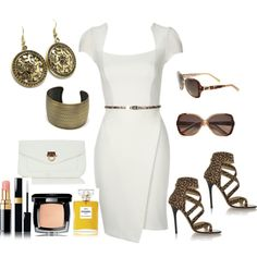 Too Cute! Roberto Cavalli shades required though ;-) Simply animal, created by lkbecker on Polyvore