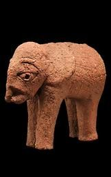 Nok Terracotta Elephant Sculpture
