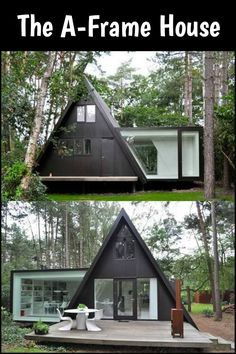Container House - Wonderful ^^ Maison triangle - terrasse en fort - Who Else Wants Simple Step-By-Step Plans To Design And Build A Container Home From Scratch? Building A Container Home, Container House Design, Container Homes, Container Office, Container House Plans, Casas Containers, Cabins In The Woods, Little Houses, Modern Architecture