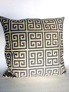 "18"" New Gray Geometric Decorative Pillowcase Cushion Cover Throw Bed Sofa #Hiwaist"