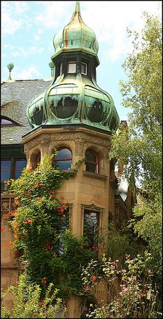 I love the verdigris dome. Beautiful Castles, Beautiful Buildings, Beautiful Places, The Places Youll Go, Places Ive Been, Places To Visit, Germany Europe, Germany Travel, Area Urbana