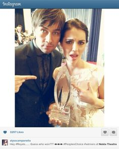 Torrance Coombs and Adelaide Kane.....SO HAPPY REIGN WON!!!! PCAs