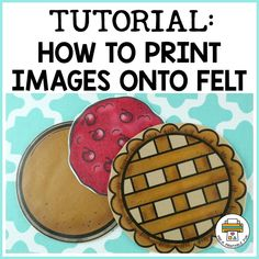 How to print images onto felt - Pre-K Printable Fun Flannel Board Stories, Felt Board Stories, Felt Stories, Flannel Boards, Learning Activities, Preschool Activities, Felt Food Patterns, Felt Play Food, Finger Plays
